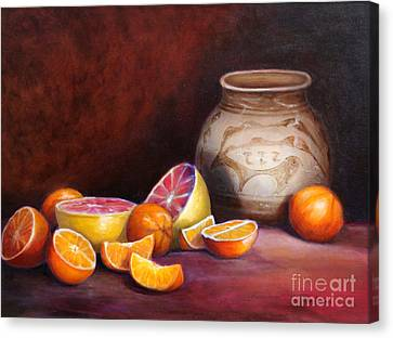 Iranian Still Life Canvas Print