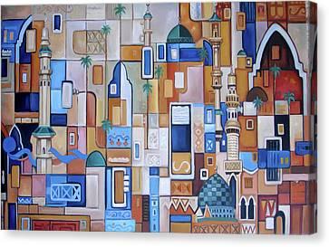 Iraq Canvas Print by Saleh Masad