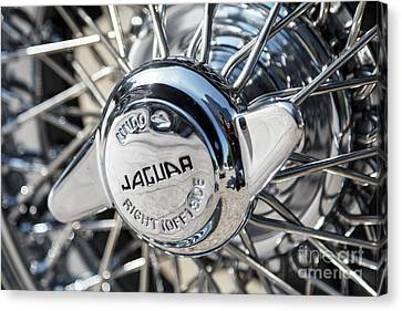 Canvas Print featuring the photograph Wire Wheel  by Dennis Hedberg