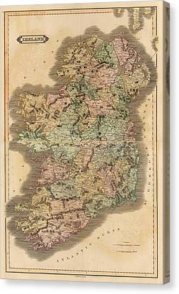 Ireland 1831 Canvas Print by Mountain Dreams