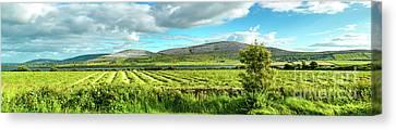Ireland  - Burren Panorama Canvas Print