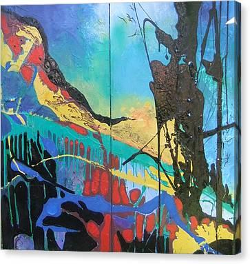 Irelands Eye Canvas Print by Joyce Garvey