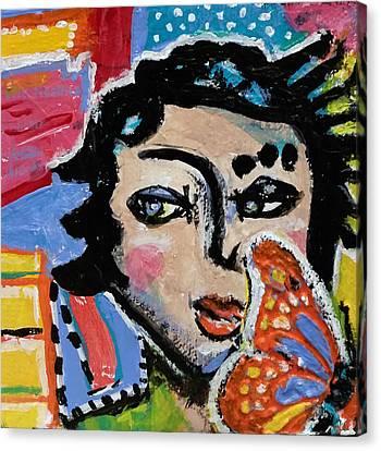 Irene - Vivid Vixen 9 Canvas Print