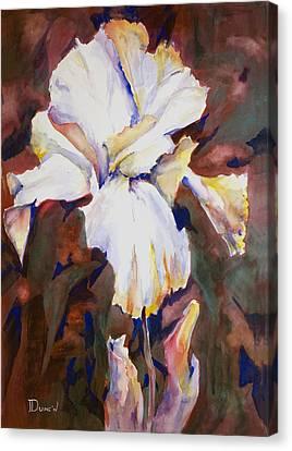 Iris Canvas Print by Bob Duncan