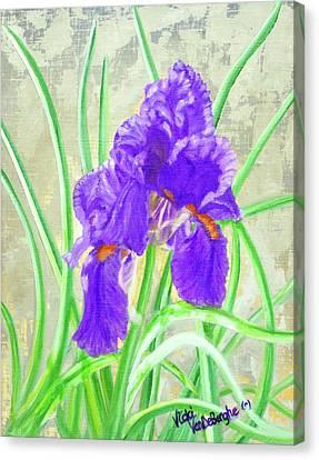 Iris Hope Canvas Print