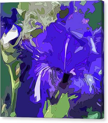 Iris Impressions Canvas Print by Gina Harrison