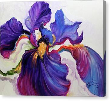 Canvas Print - Iris Serenity by Marcia Baldwin