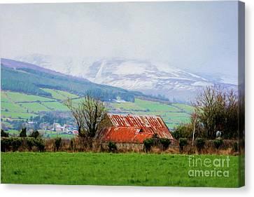 Irish Barn Canvas Print
