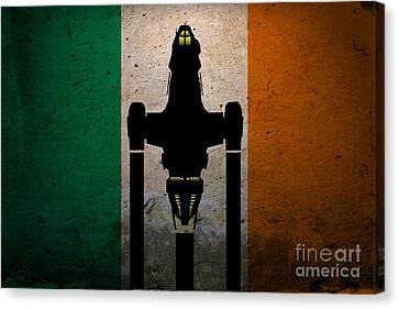 Irish Brown Coats Canvas Print by Justin Moore