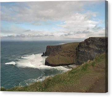 Irish Coast Canvas Print by William Thomas