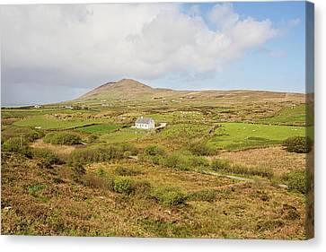 Irish Countryside Cottage Canvas Print