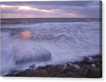 Canvas Print featuring the photograph Irish Dawn by Ian Middleton
