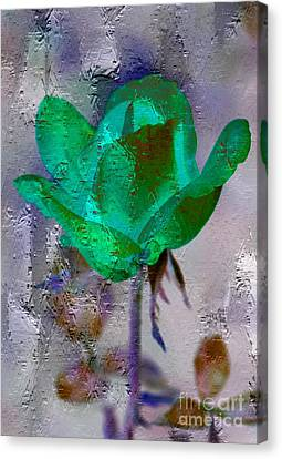 Canvas Print featuring the photograph Irish Green by Michael Moriarty