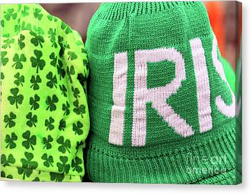 Irish Hats Canvas Print by John Van Decker