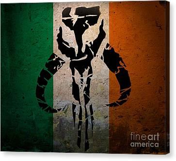 Irish Mandalorian Canvas Print