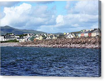 Irish Seaside Village - Co Kerry  Canvas Print