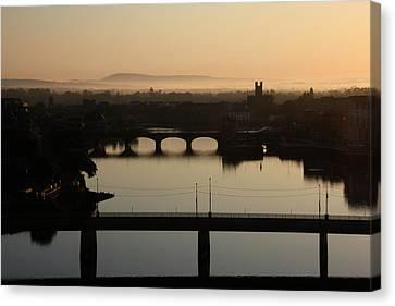 Irish Sunrise  Canvas Print by Catherine Alfidi