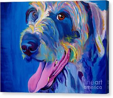 Irish Terrier - Lizzy Canvas Print