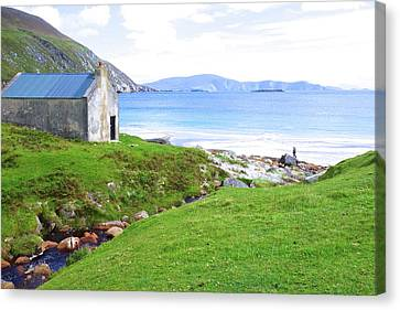 Irish Treasures.. Past And Present Canvas Print by Charlie and Norma Brock