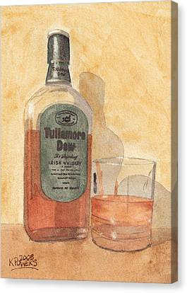 Irish Whiskey Canvas Print by Ken Powers