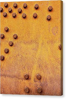 Iron And Rust Canvas Print by Russell Keating