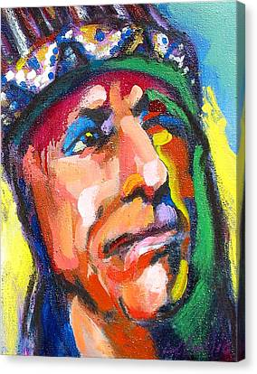 Iron Eyes Cody Canvas Print