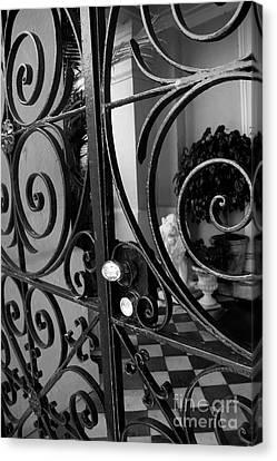 Iron Gate Canvas Print by Wendy Mogul