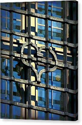 Iron Heart Canvas Print by Lori Seaman