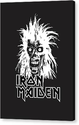 Iron Maiden Canvas Print