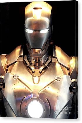 Iron Man 3 Canvas Print by Micah May