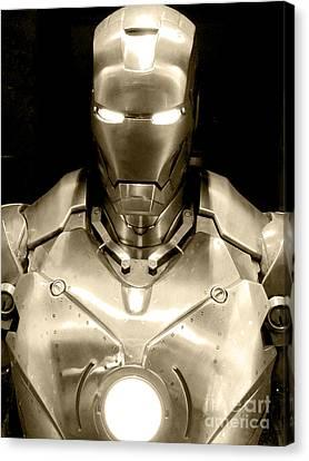 Iron Man 4 Canvas Print by Micah May