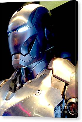 Iron Man 9 Canvas Print by Micah May