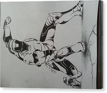 Iron Man Canvas Print by Timothy Raj