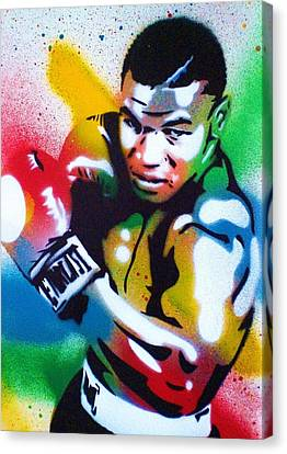 Iron Mike Canvas Print by Leon Keay