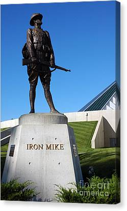 Iron Mike National Museum Of The Marine Corps Canvas Print