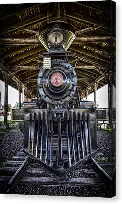 Iron Range Railroad Company Train Canvas Print by Bill Tiepelman