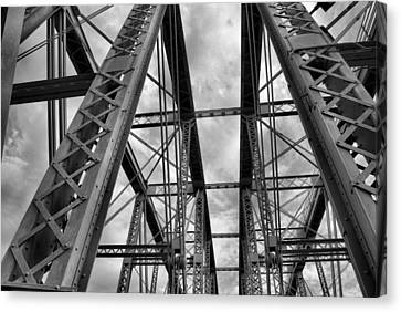 Iron Work Canvas Print by Russell Todd