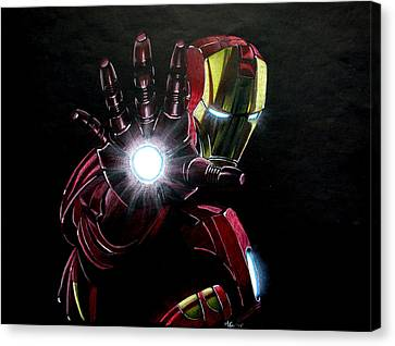 Ironman Canvas Print by Marcus Quinn