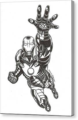 Ironman Canvas Print by MoryDeCrazy