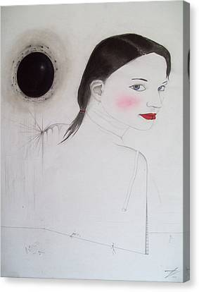 Is Like Vandalism Canvas Print by Justin D B