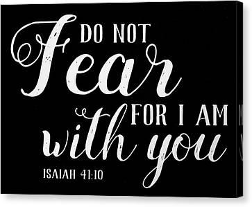 3.14 Canvas Print - Isaiah 41 10 Scripture Verses Bible Art by Reid Callaway
