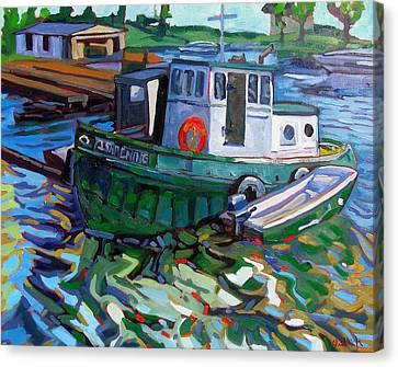 Ishpeming Canvas Print by Phil Chadwick