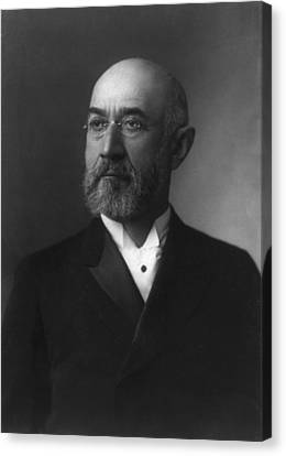 Isidor Straus 1845-1912 Co-owner Canvas Print by Everett
