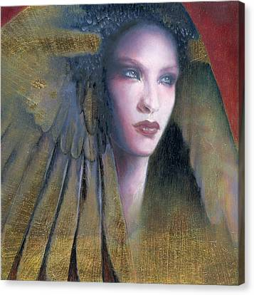 Canvas Print featuring the painting Isis by Ragen Mendenhall