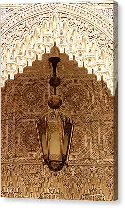 Islamic Plasterwork Canvas Print by Ralph A  Ledergerber-Photography