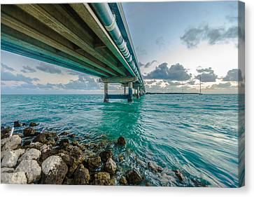 Islamorada Crossing Canvas Print by Dan Vidal
