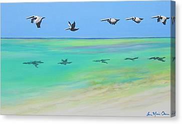 Islamorada Five Canvas Print