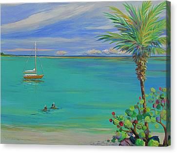Islamorada Snorkeling Canvas Print