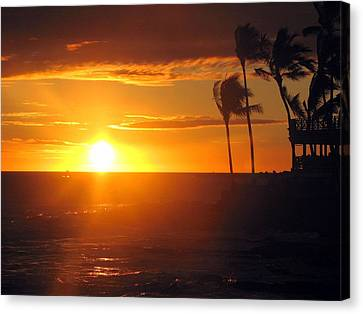 Island Breeze Canvas Print