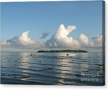 Island Cloudscape Canvas Print